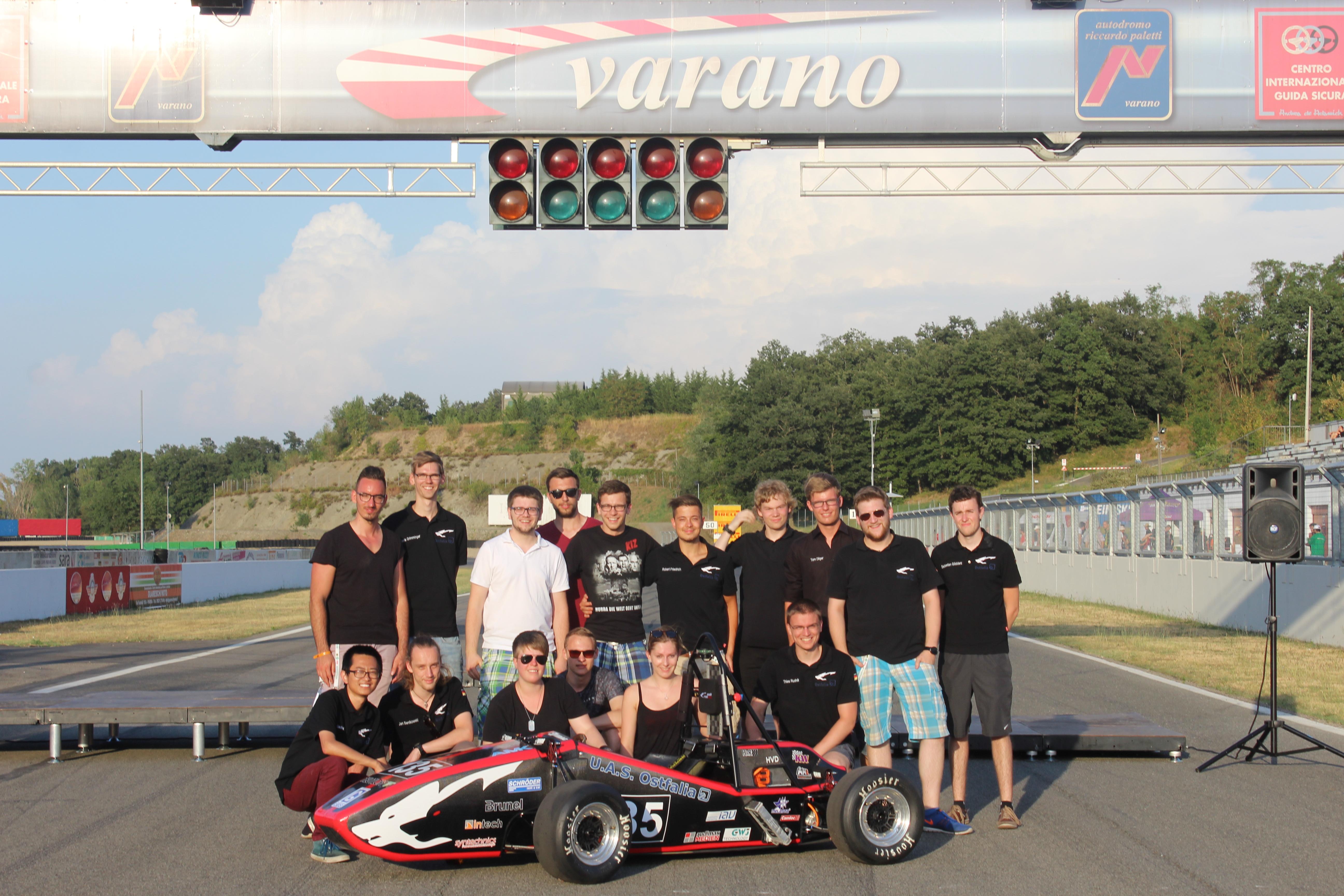 Das Team WR12